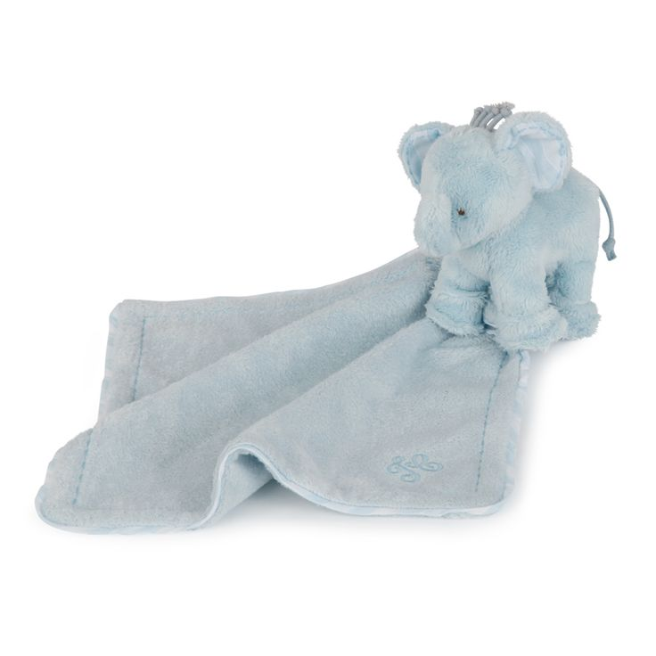 Soft toy Ferdinand the elephant coupled with a square of fur and imitation suede. Delivered in a Tartine et Chocolat box.
