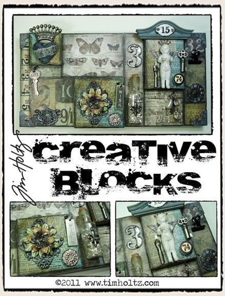 Tim Holtz Creative Blocks