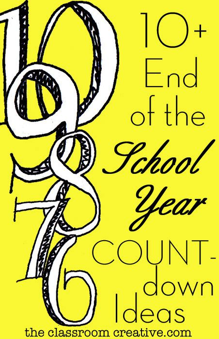 End of the school year countdown ideas!   #countdown