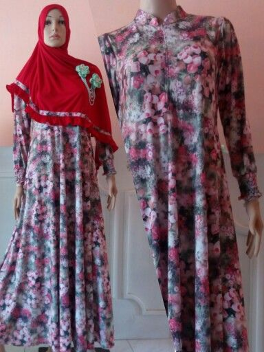 Flowery Basic Dress 04  Idr. 185.000 (dress only) Material : spandex korea Cutting : umbrella (wide dress) Size : S M L XL  Contact for order : Whatsapp : 082242795150 / 082300009229  Bbm : 2bf88c4a / 5219BEB8 / 5206AC0E / 2B1AAB15  Line : aqilacreation  #moslemfashion #abaya #abiye #gamis #hijab #hijabsyari #basicdress #moslemdress #longdress #khimar #jilbab