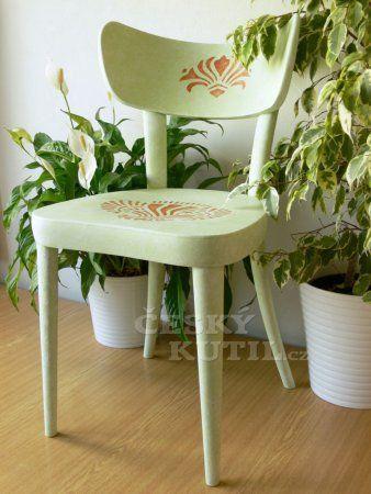 Renovace staré židle