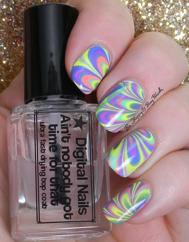 646 best nail art water marble images on pinterest marble watermarble nail art with b squared lacquer edm collection solutioingenieria Image collections