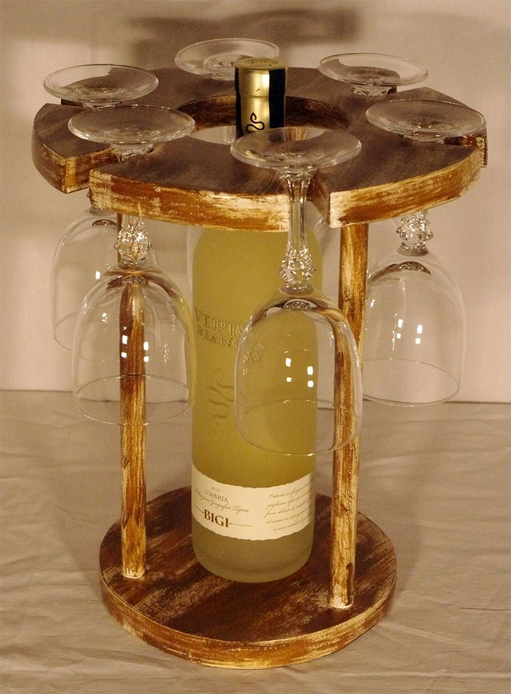 Oltre 25 fantastiche idee su portabottiglie vino su - Porta bicchieri birra ...