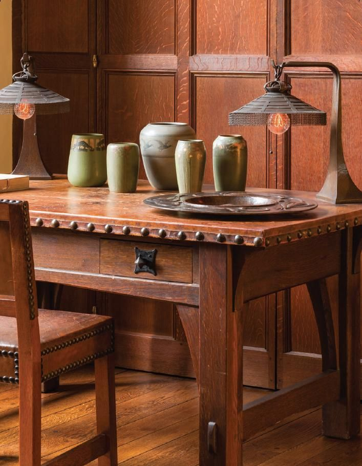 Arts and Crafts | Stickley | The Roycrofters | Marblehead Pottery | Walrath | The allure of Leeds House: An unparalleled private collection finds its ideal home in Philadelphia - Page 4 - The Magazine Antiques