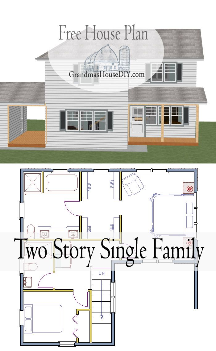 17 best ideas about free house plans on pinterest house for Free single family home floor plans
