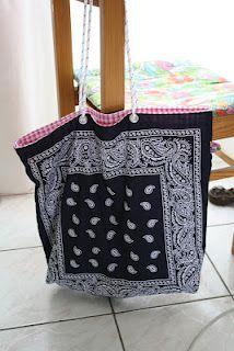 Taschentuchtasche #bandana #bag