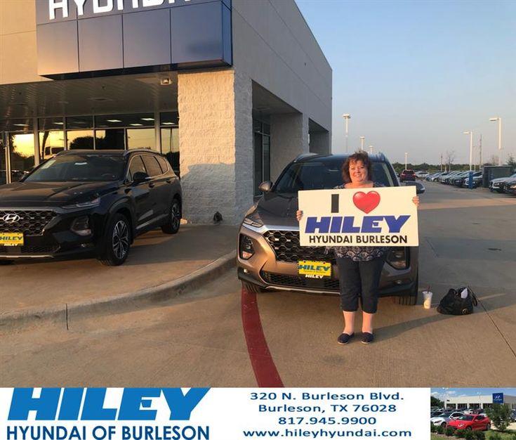 Congratulations Robyn on your Hyundai Santa Fe from Al