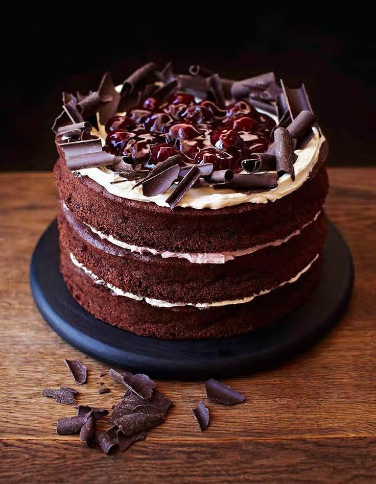 Gluten-Free Black Forest Cake - The Happy Foodie