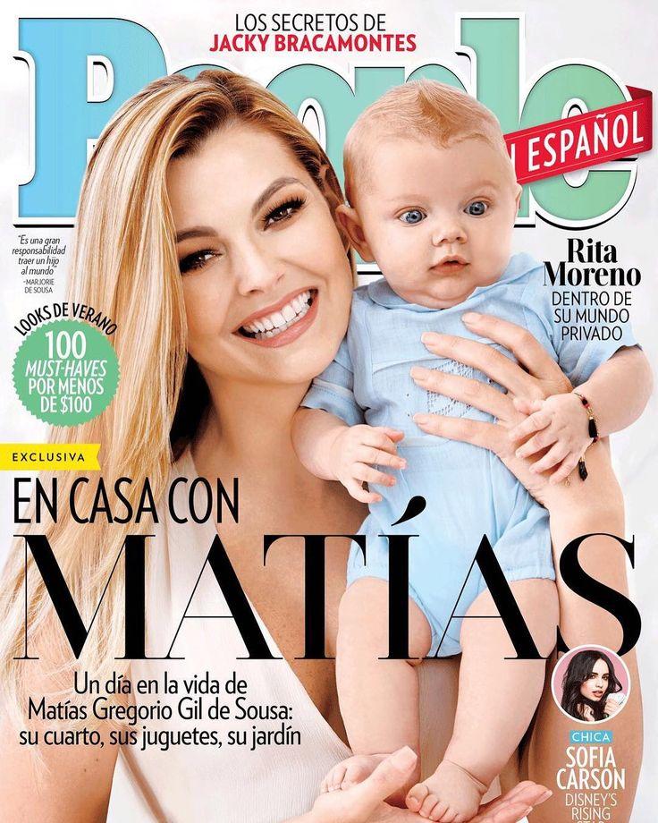 Marjorie de Sousa presenta a su hijo Matías - Emedemujer VE