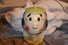 Vintage Olive Oyl Cookie Jar Popeye Cartoon Characters USA 1961 Fresh to Market