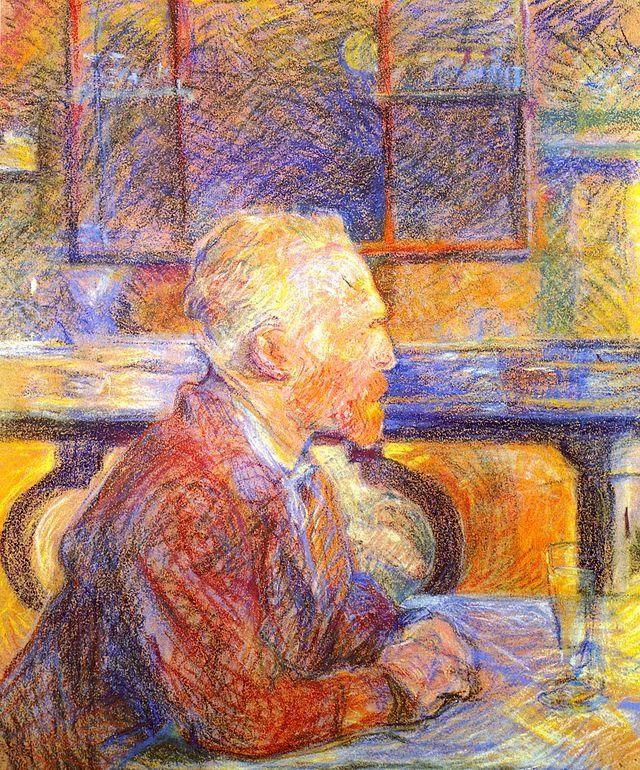 Portrait of Vincent van Gogh by Henri Toulouse Lautrec