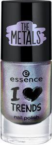 I love TRENDS nail polish the metals 24 chrome paradise - essence cosmetics