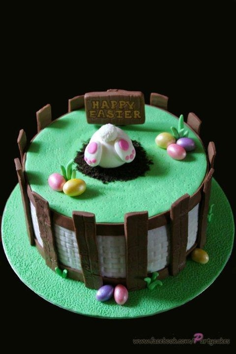 Easter Cake by Cake Appreciation Society Member Cakes and Cupcakes by Leora - See  NSW Directory Listing at www.cakeappreciationsociety.com