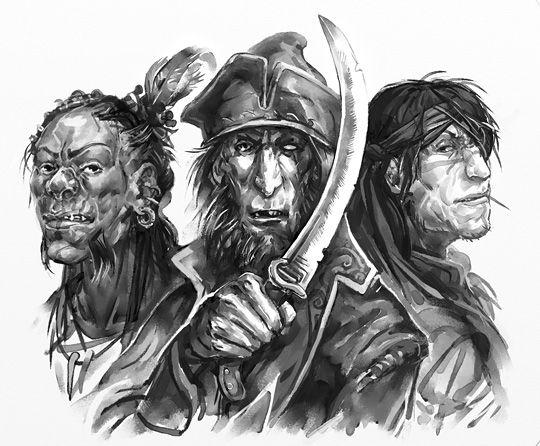 DrDII: Cutthroats by Merlkir