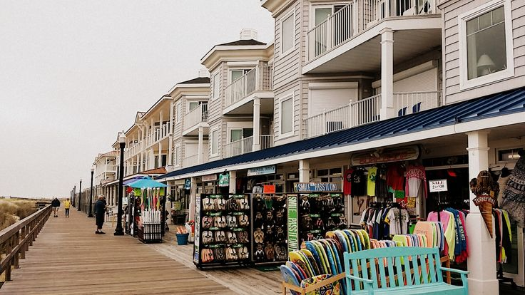boardwalk shops, Bethany Beach.   #summer2015 #coastaldelmarva #bethanybeachdelaware