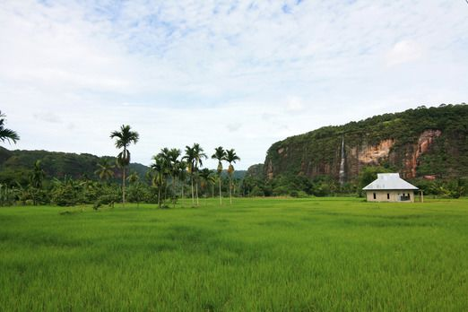 Harau Valley - roughly 134 km from Padang and an hour drive from Bukittinggi.  Entering the lush green terrain that is f...
