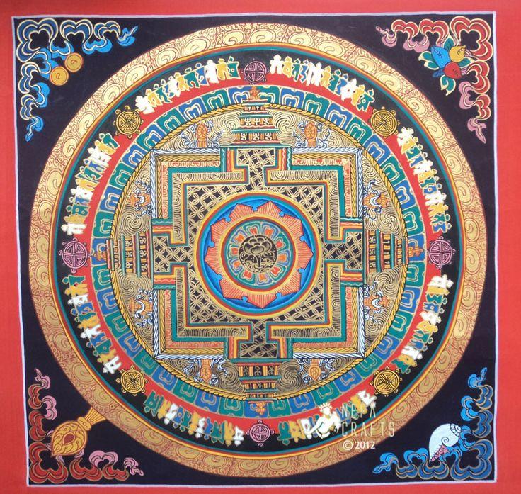 Buddhist Lotus Mandala Download
