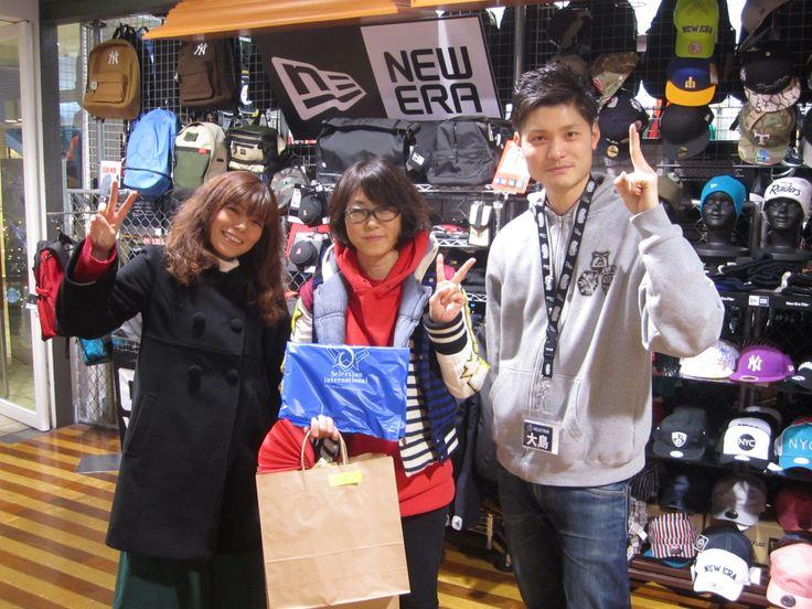【大阪店】2014.12.27 SMAPの大阪コンサートのついでに岩手からセレクションに遊びに来て頂きました!!お子様へクリスマスプレゼントでたくさんお買い物して下さいました!!僕も同じスマ友としてすごく楽しかったです!!また遊びに来てくださいね!