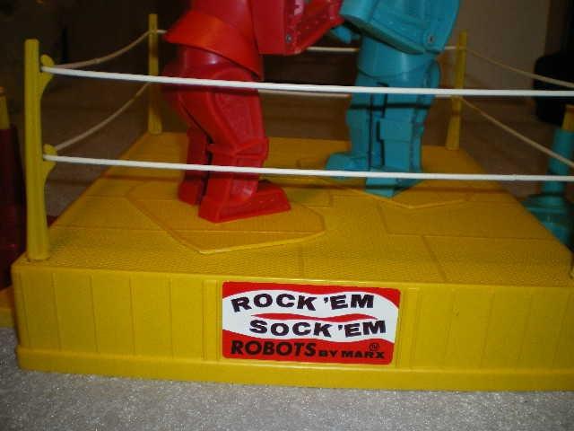 vintage rock em sock em robots eBay