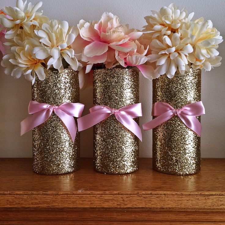 25 best ideas about gold baby showers on pinterest baby for Baby shower tree decoration
