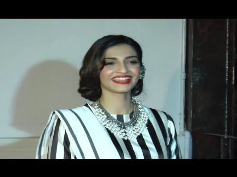Sonam Kapoor looks GORGEOUS in FULL CLOTHES at store opening Raw Mango.