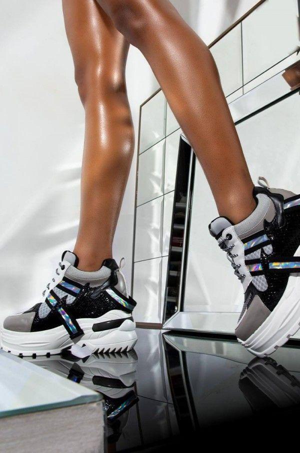 Platform sneakers, Platform wedges