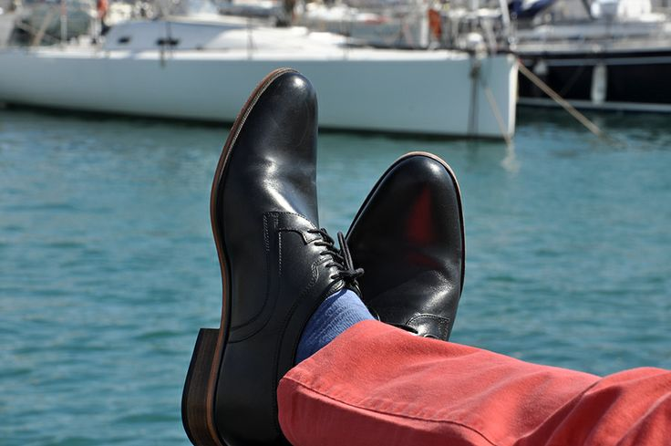 Sea, Sun and Yachts. What more do you need? Relaxing in #Betelli height increasing #shoes.
