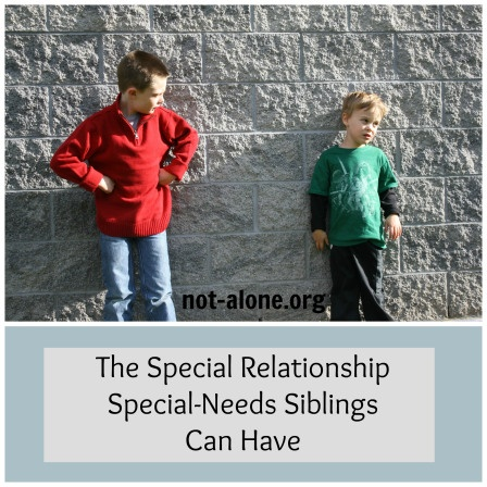 Every parent of a special needs child needs to read this article on the special relationship of siblings of individuals with special needs.