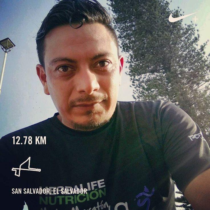 Podía más pero me duele la rodilla   #running #ElSalvador #runto21km #21ksansalvador