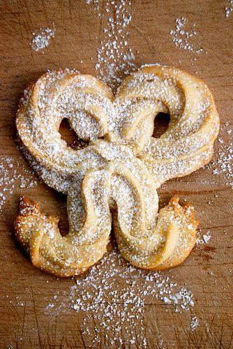 Cream Cheese Lemon Bows #christmas #foods @shahsocialmedia