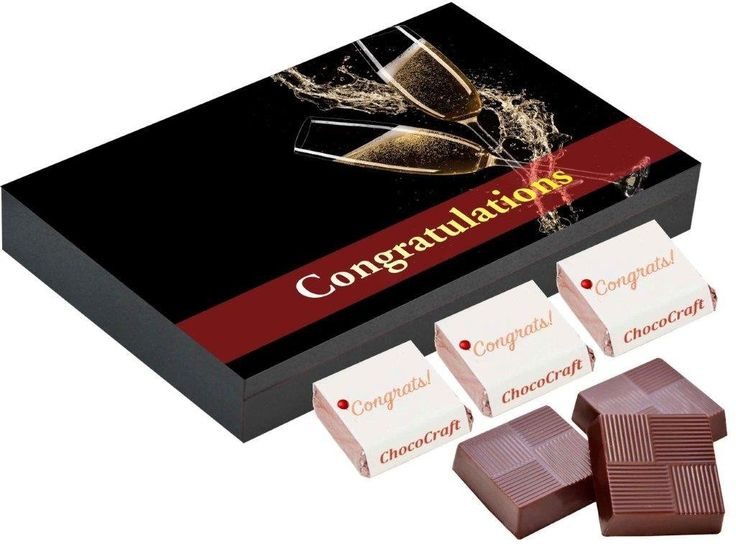 congratulations chocolate gifts | Chocolate box