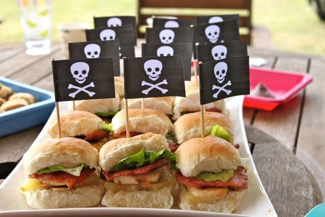 pirate party food- maybe something like this for the adults