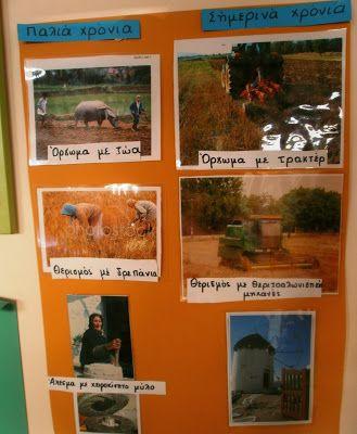 1ο ΝΗΠΙΑΓΩΓΕΙΟ ΙΣΤΙΑΙΑΣ: Μαθαίνοντας για τη ΣΠΟΡΑ και τον ΚΥΚΛΟ ΤΟΥ ΨΩΜΙΟΥ στο Νηπιαγωγείο