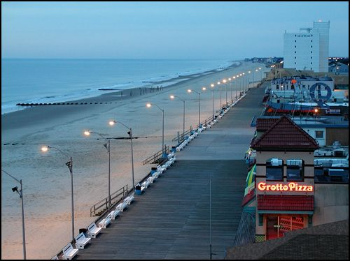 Rehoboth Beach, DE. One the cutest beaches/towns I've ever seen. Plus, it's the beach my mom grew up visiting.