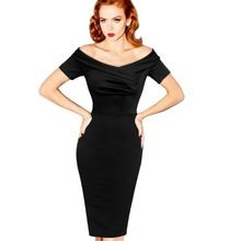 Like and Share if you want this  Women Dress Black Elegant Pencil Vintage Pinup Retro Rockabilly Slash Ruched Party Cocktail Boycon Summer Dress 2016 Vestidos     Tag a friend who would love this!     FREE Shipping Worldwide     #Style #Fashion #Clothing    Get it here ---> http://www.alifashionmarket.com/products/women-dress-black-elegant-pencil-vintage-pinup-retro-rockabilly-slash-ruched-party-cocktail-boycon-summer-dress-2016-vestidos/