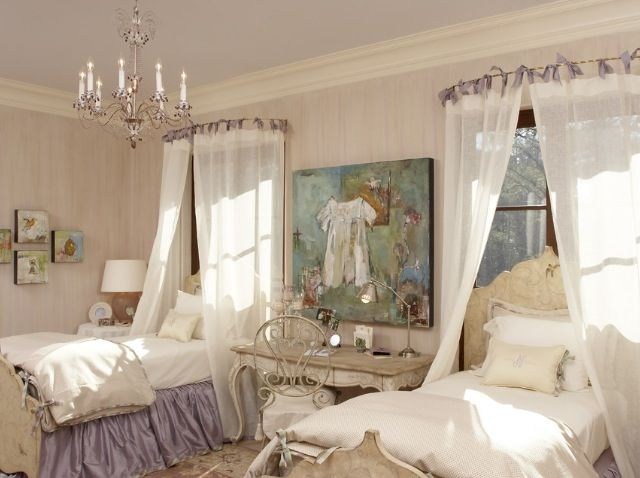 Sisters bedroom elegant girls bedroom girls bedroom for Elegant bedroom ideas for girls