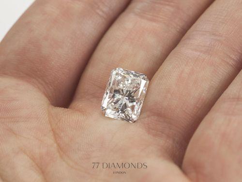 Stunning Radiant-cut diamond from @77 Diamonds