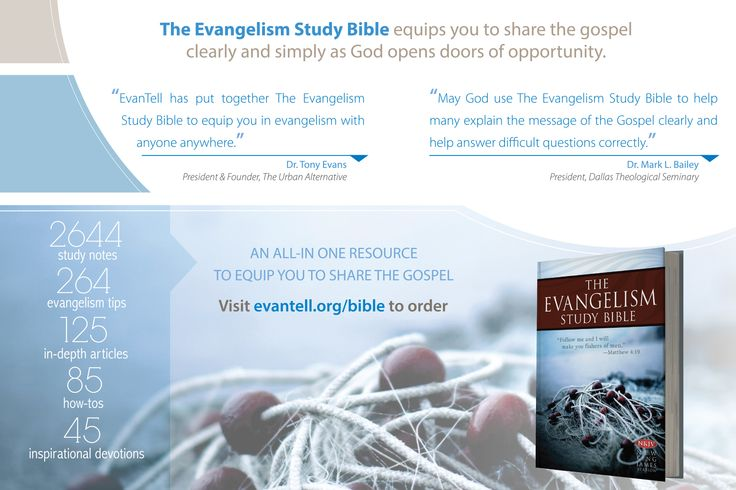 The Evangelistic Bible Study: Making It Work | Christian ...