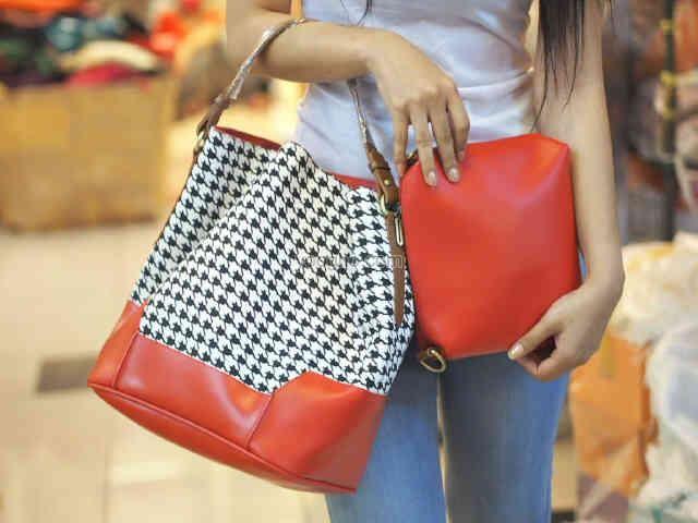 Tas Wanita (Kode ZARA bag in bag - Red)