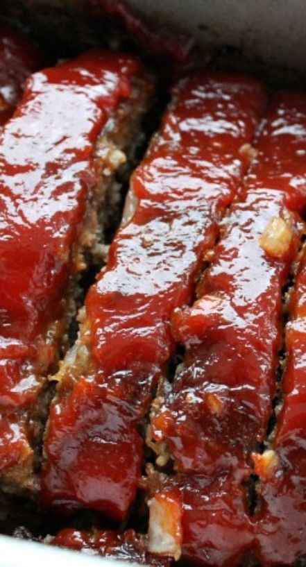 Classic Meatloaf Recipe on Pinterest | Meatloaf Recipes, Meatloaf ...