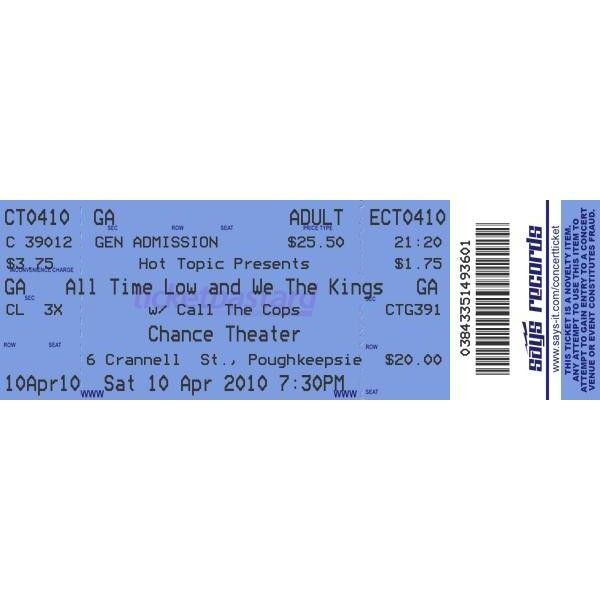 Concert Ticket Maker ❤ liked on Polyvore featuring home, kitchen