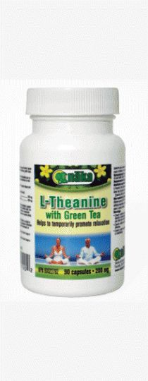 Naka L-Theanine with Green Tea stress solution! Promote tranquility, relaxation and a restful sleep with this naturally non-drowsy formulation.