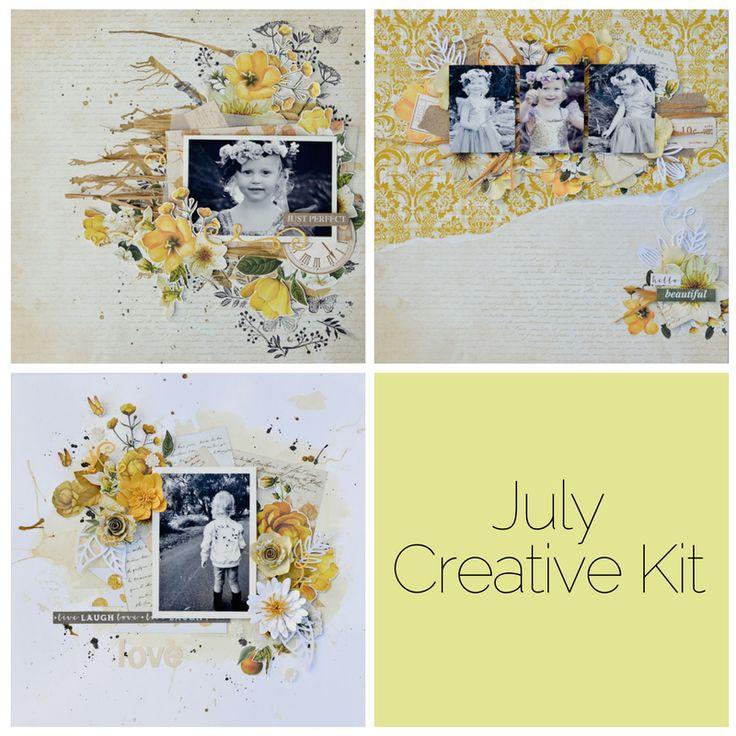 July 'Golden Grove Collection' Creative Kit www.uniquelycreative.com.au