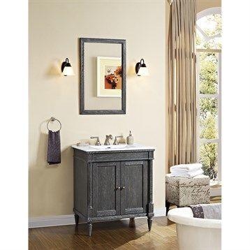 Rustic Chic Bathroom Vanity best 25+ 30 vanity ideas on pinterest | vanity desk with mirror