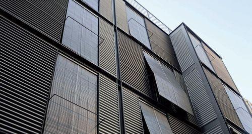 Corrugated Metal Panel Siding Modern Building Google