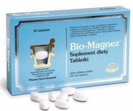 BIO-MAGNESIUM 0.2 g x 30 tablets physical and mental fatigue and cardiovascular…