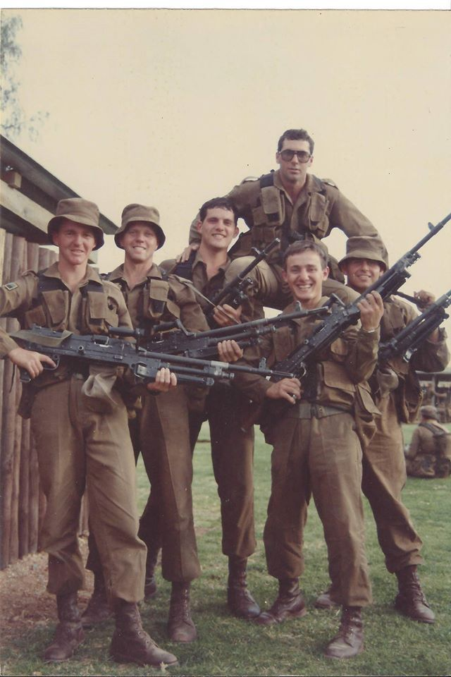 Young South African soldiers c. 1980s [640 x 960]