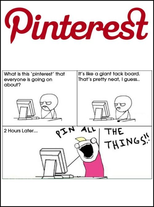 #Pinterest Pin all the things