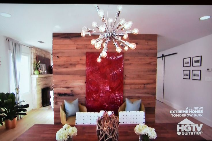 Property Brothers Wood Clad Wall Retro Asterix Light