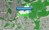An overview of the Kuninkaantammi area in English. / Kuninkaantammesta englanniksi Helsingin kaupungin sivuilla.